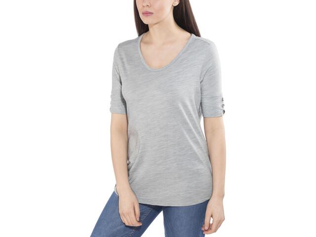 Royal Robbins Merinolux T-shirt Damer, light pewter